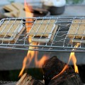 Backyard Camping: Campfire S'mores and More from HoosierHomemade.com