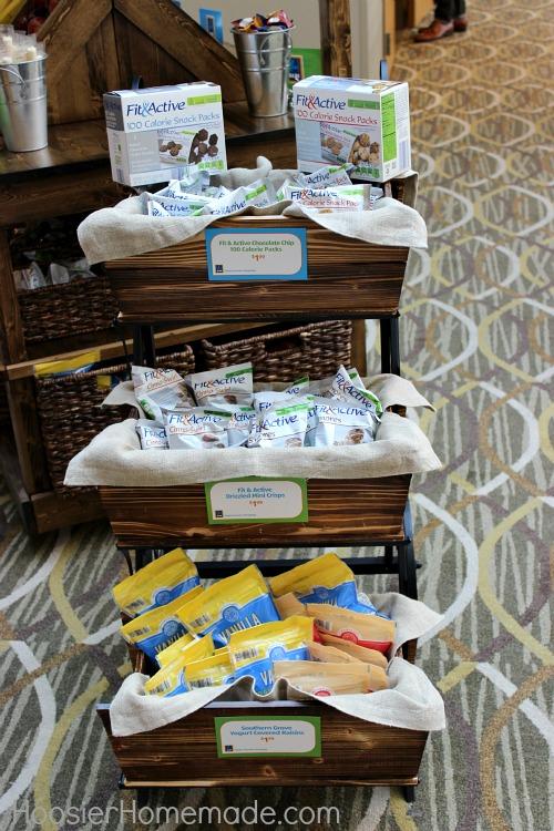 ALDI Snack Cart at Savvy Blogging Summit