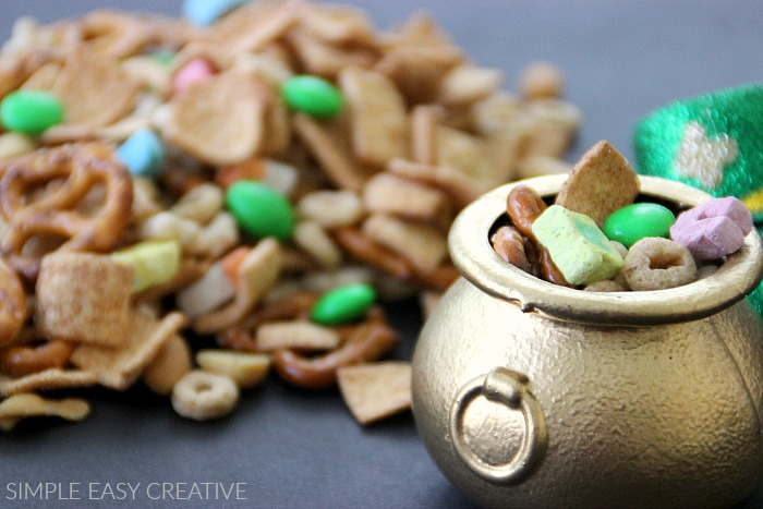 Snack Mix with Lucky Charms Cereal, Candy and more