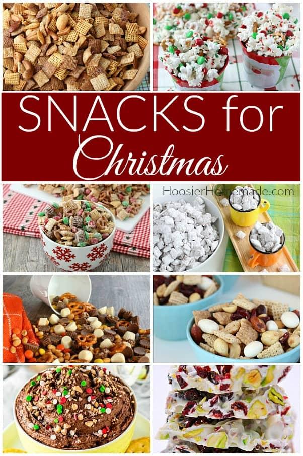 Snacks for Christmas