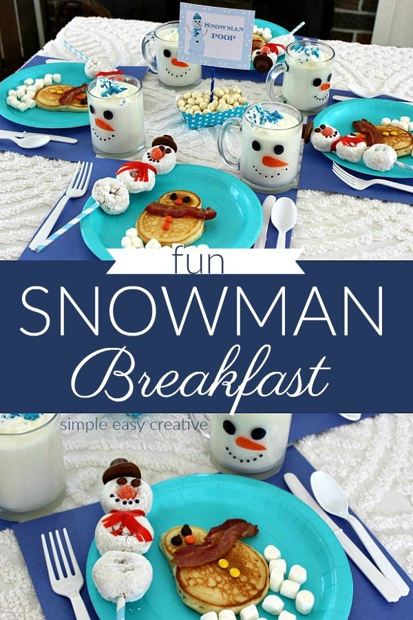 Snowman Breakfast