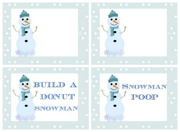 Snowman Breakfast.Printables.HH