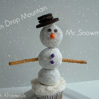 Winter Wonderland: Snowman Cupcakes