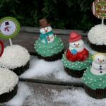 Snowman Cupcakes - Decemeber 2011