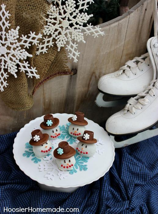 how to make homemade snowman cookies