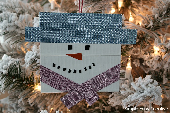 Snowman Ornaments DIY