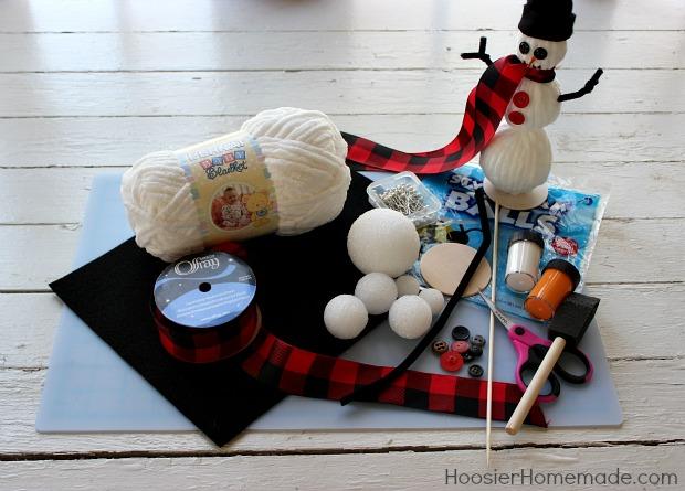 Easy Winter Crafts - Hoosier Homemade