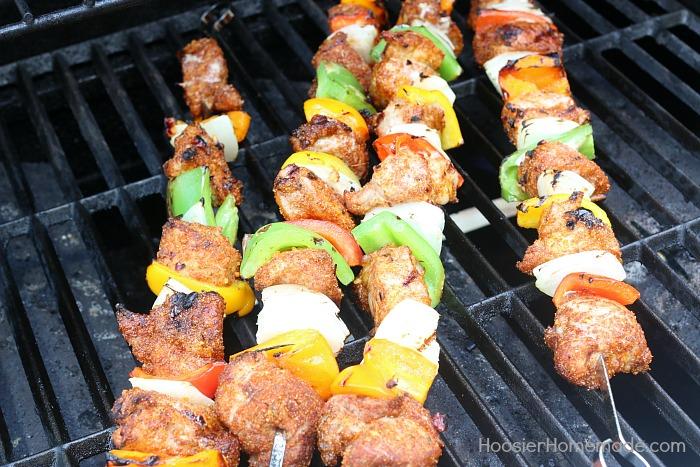 Grilled Southwestern Pork Kabobs
