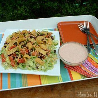 Seven Layer Southwestern Salad