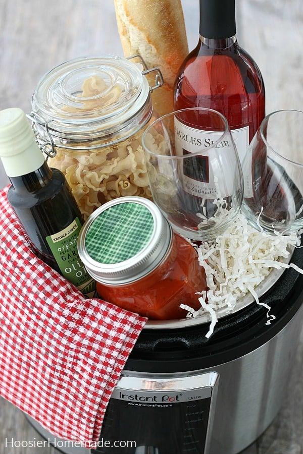 Italian Dinner supplies in Instant Pot