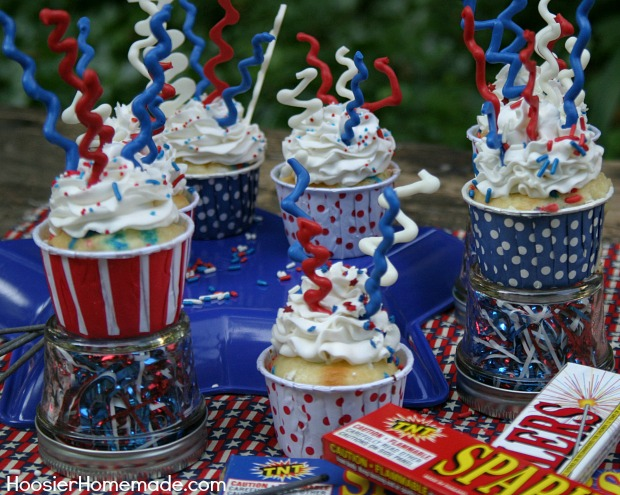 4th of July Printables and Cupcakes Hoosier Homemade