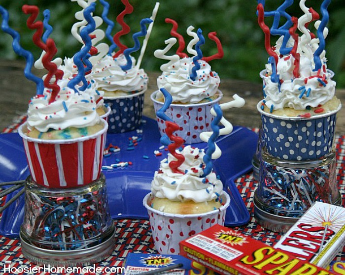 Fourth of july cupcake recipes homemade