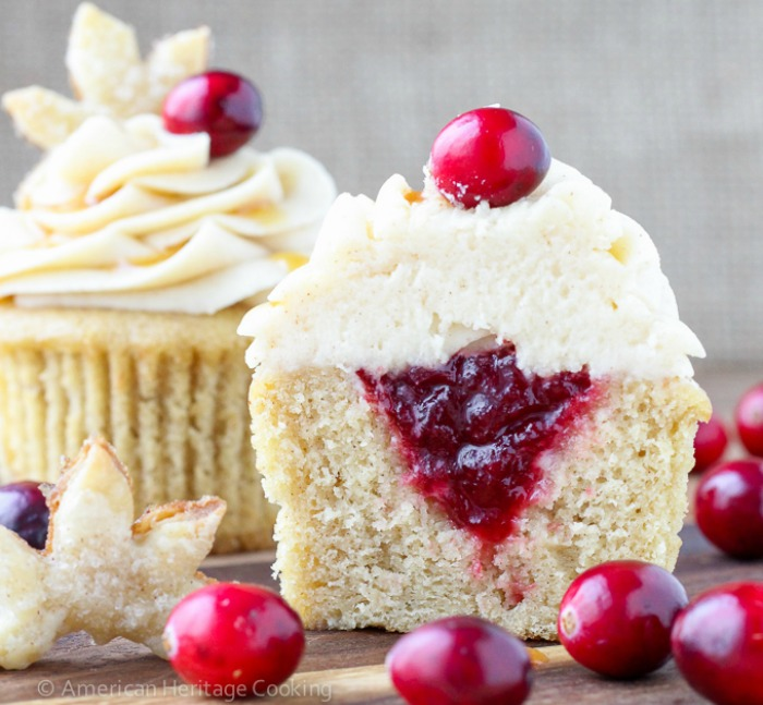 Spiced-Apple-Cider-Cranberry-Cupcakes