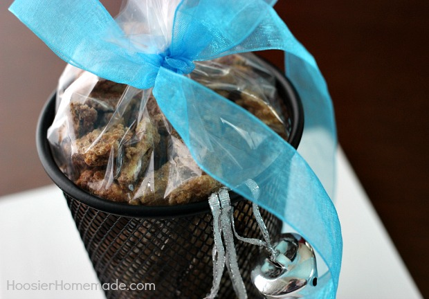 Homemade Gift Spiced Nuts