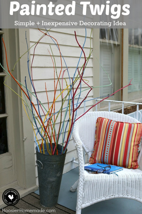 Transform Twigs Cut From Your Yard Into A Cool Decoration! With Just A Bit  Of. Decorating ...