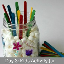 Spring Activity Jar.Day 3