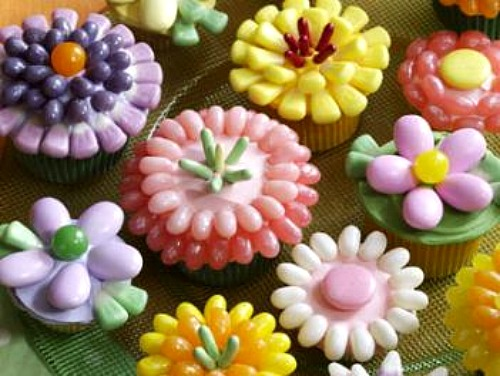 Spring Cupcakes Jelly Belly