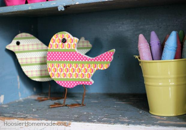 Spring Decorating Ideas | from HoosierHomemade.com