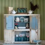 Hoosier Cabinet: Decorating for Spring