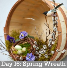 Spring Wreath.Day16