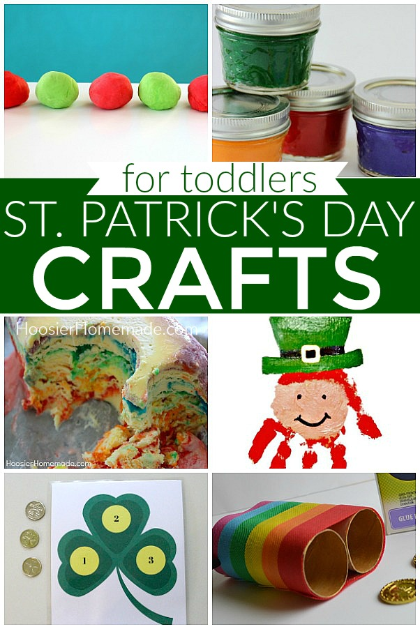 St Patrick's Day Crafts for Toddlers