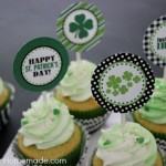St Pats Cupcake Toppers - February 2013