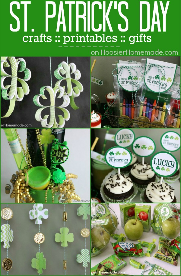St patrick 39 s day treats crafts and more hoosier homemade for St patricks day decorations for the home