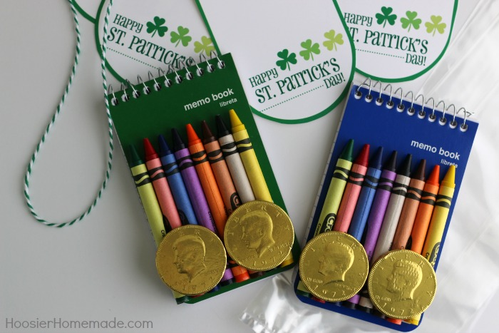 St. Patrick's Day Treat Bags with FREE Printable
