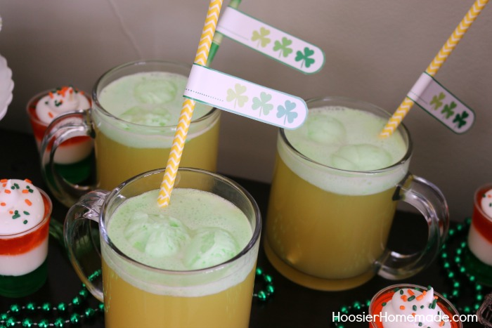 St. Patrick's Day Drink Flags