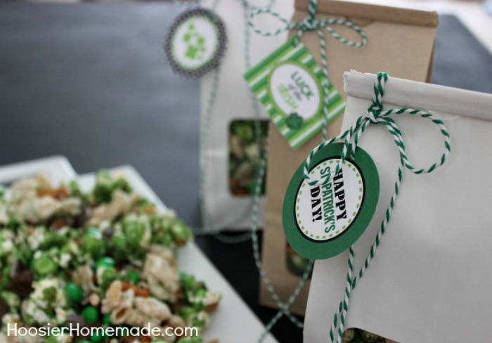 Luck of the Irish Party Mix Treat Bags