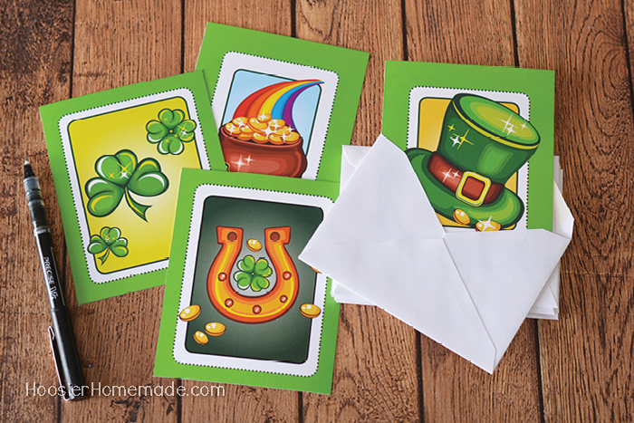 Printable St. Patrick's Day Cards