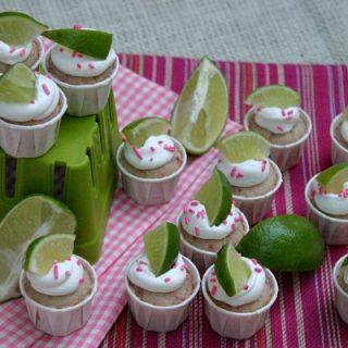 Strawberry Margarita Cupcake Bites