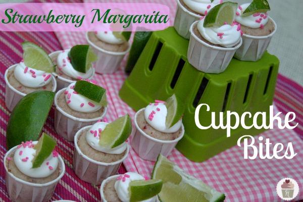 Strawberry Margarita Cupcake Bites Hoosier Homemade