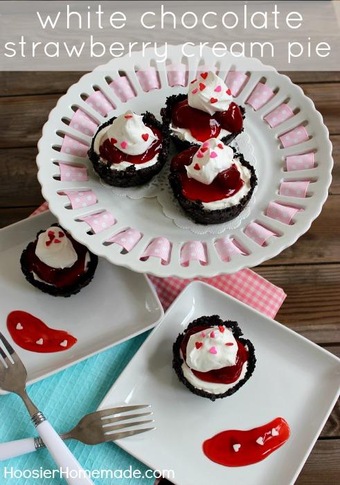 White chocolate strawberry cream pie free printables for White chocolate and strawberry tart