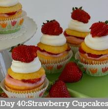 Strawberry-Shortcake-Cupcakes.Day 40