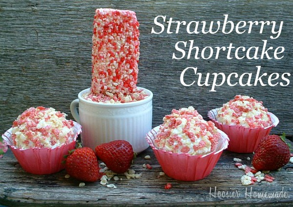 Good recipes with strawberry cake mix