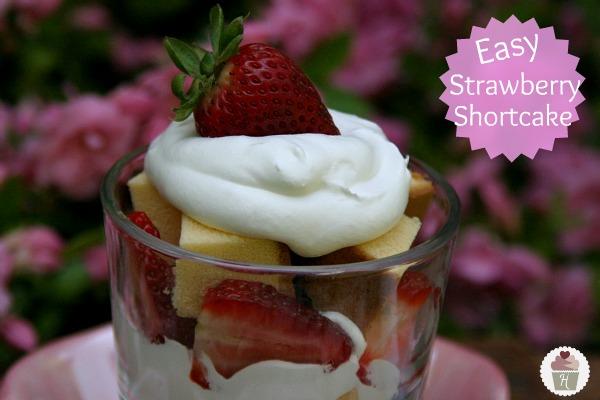 Easy Strawberry Shortcake - Hoosier Homemade