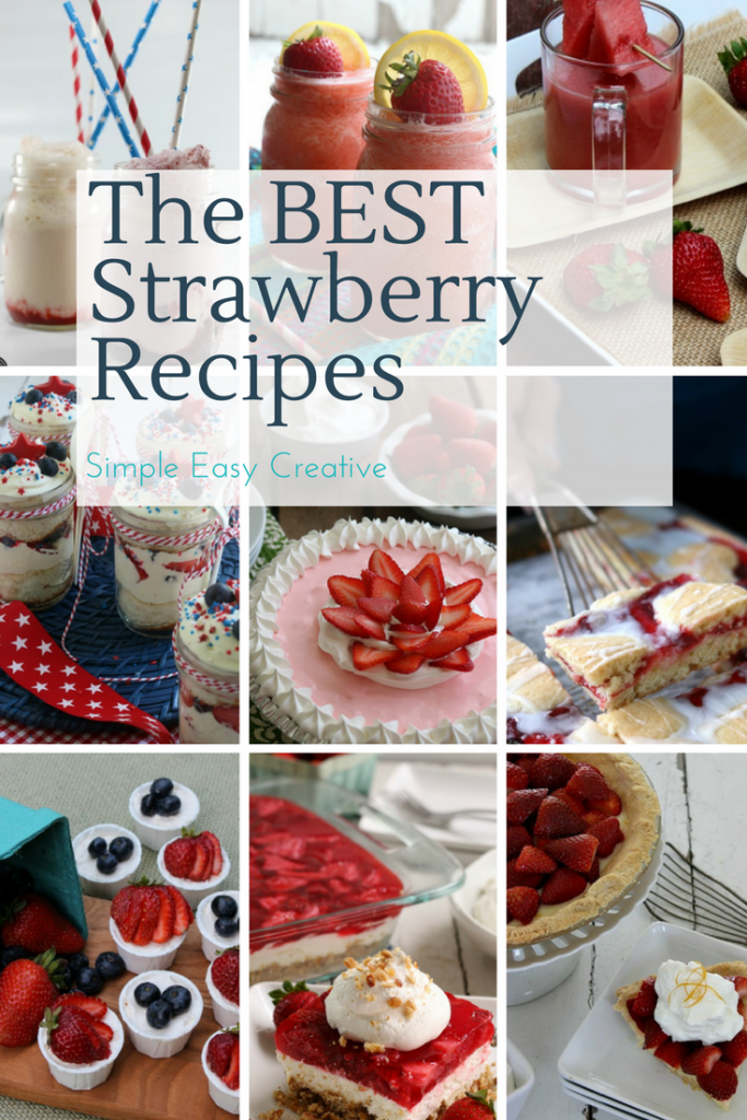 The best strawberry recipes