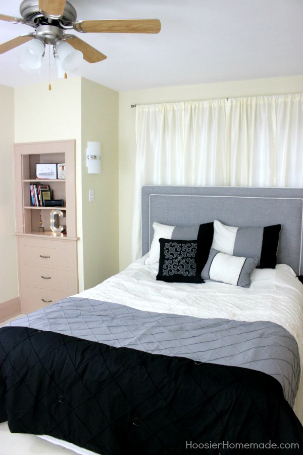 Small Bedroom Makeover: Stylish for Young Adults - Hoosier Homemade