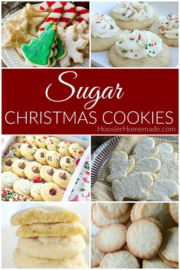 Sugar Christmas Cookies