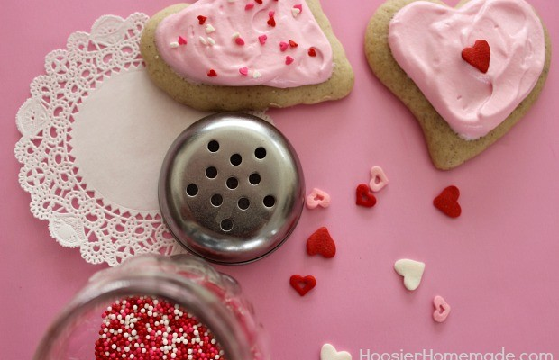 Soft Sugar Cookies Recipe :: HoosierHomemade.com