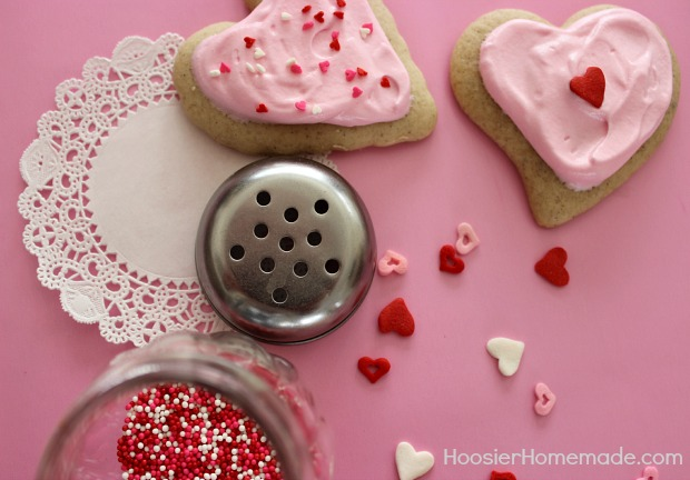 Soft Sugar Cookies Recipe :: HoosierHomemade.com