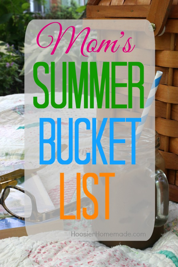 What is on your Summer Bucket List? Summertime is a great time to refresh and recharge ourselves! Time to enjoy the weather, visit with friends, and take trips to the beach. These Summer Bucket List Ideas will help you get started! Click on the photo for all the ideas!