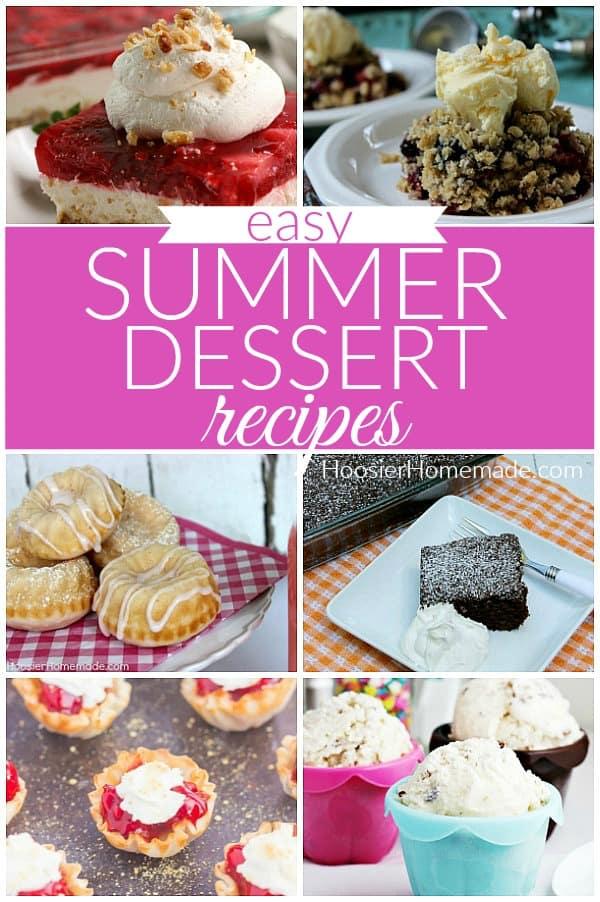 Summer Desserts Recipe