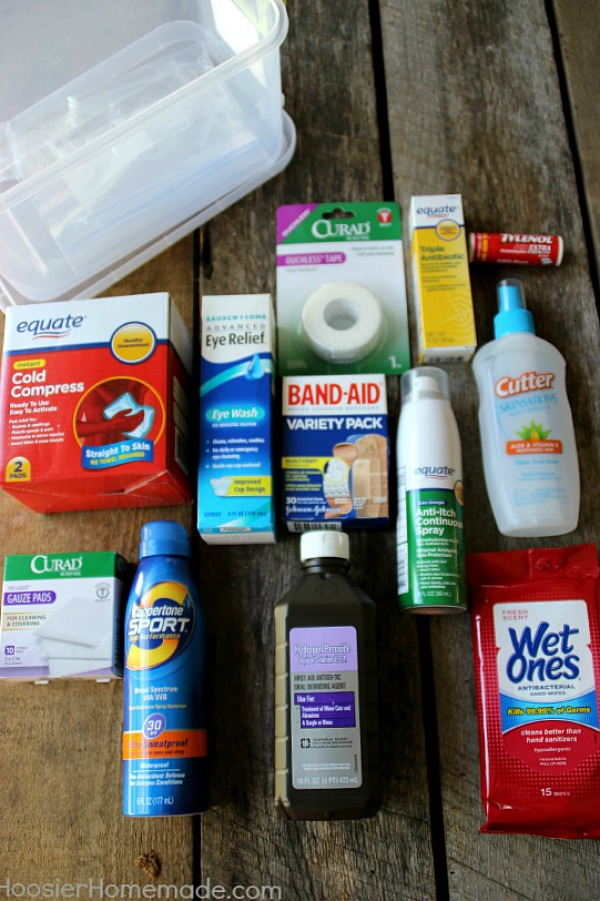 Summer Survival First Aid Kit