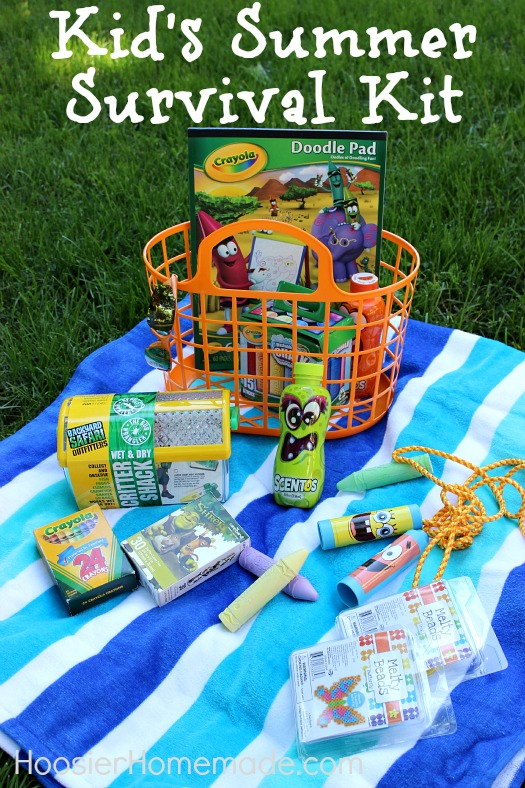 Summer Survival Kit :: Join the fun at HoosierHomemade.com