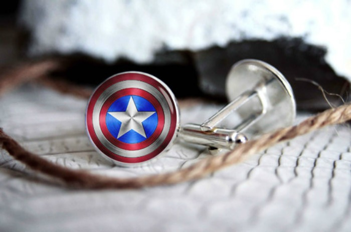 Super Heroes Cufflinks