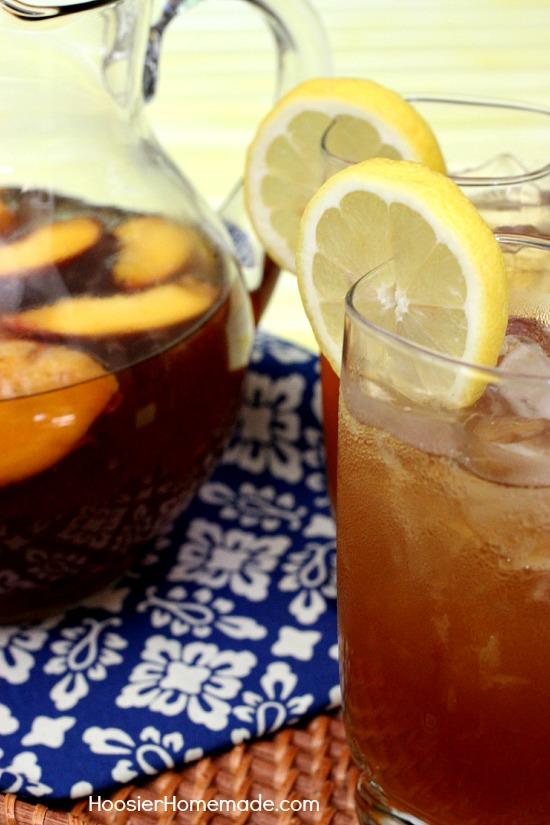 Sweet Tea Lemonade on HoosierHomemade.com