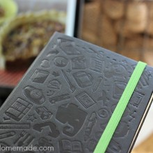 Moleskin Evernote Notebook : Review on HoosierHomemade.com