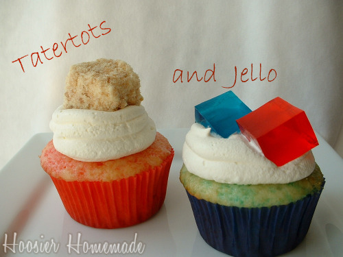Tatertots & Jello Cupcakes.3
